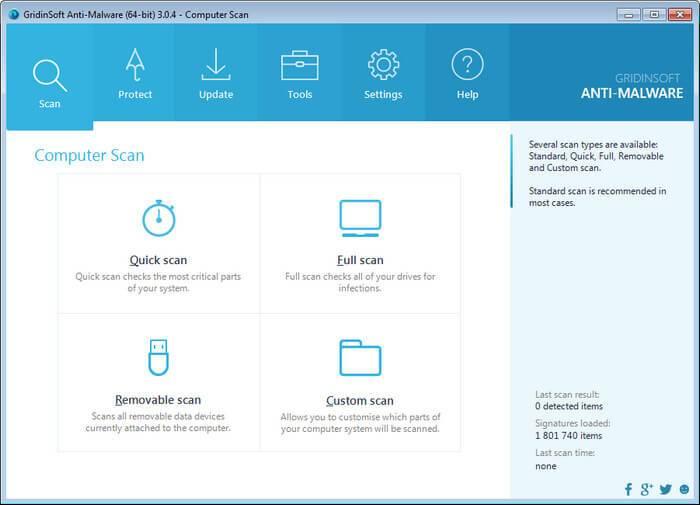 GridinSoft Anti Malware crack key free trial